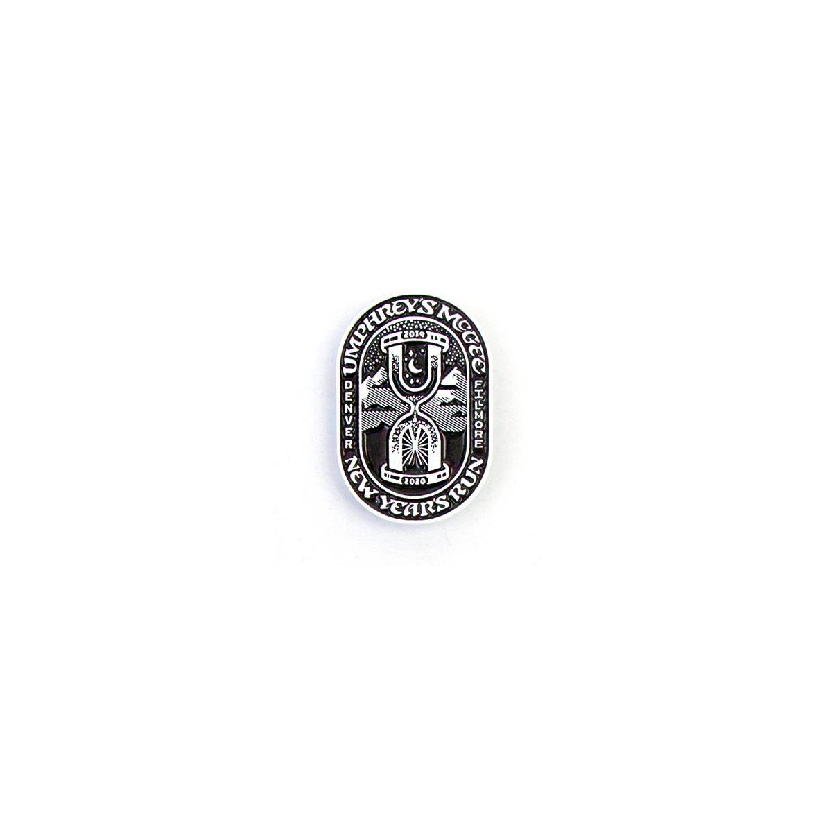 NYE 2019 Hourglass Pin