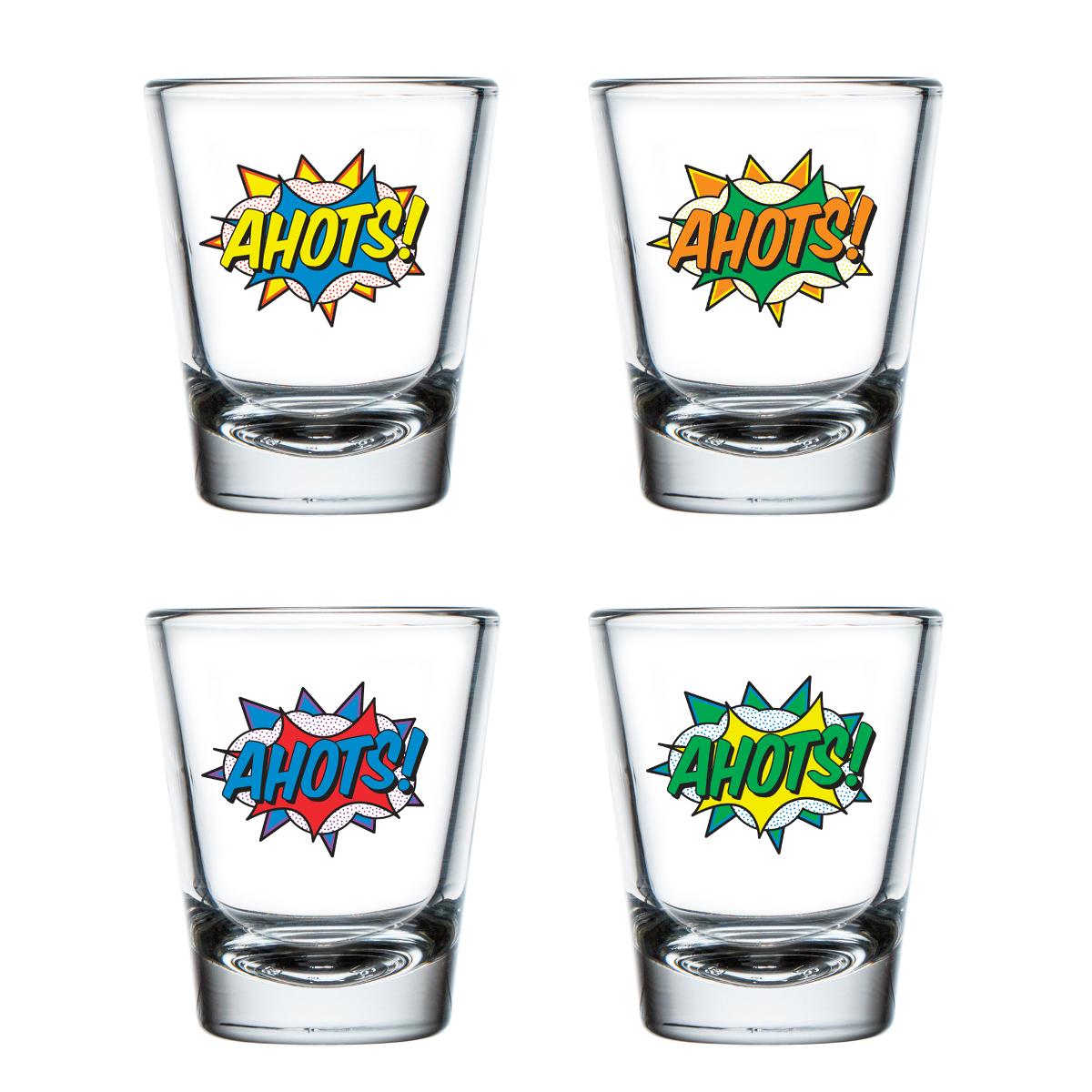 Ahots Shot Glass Set of 4