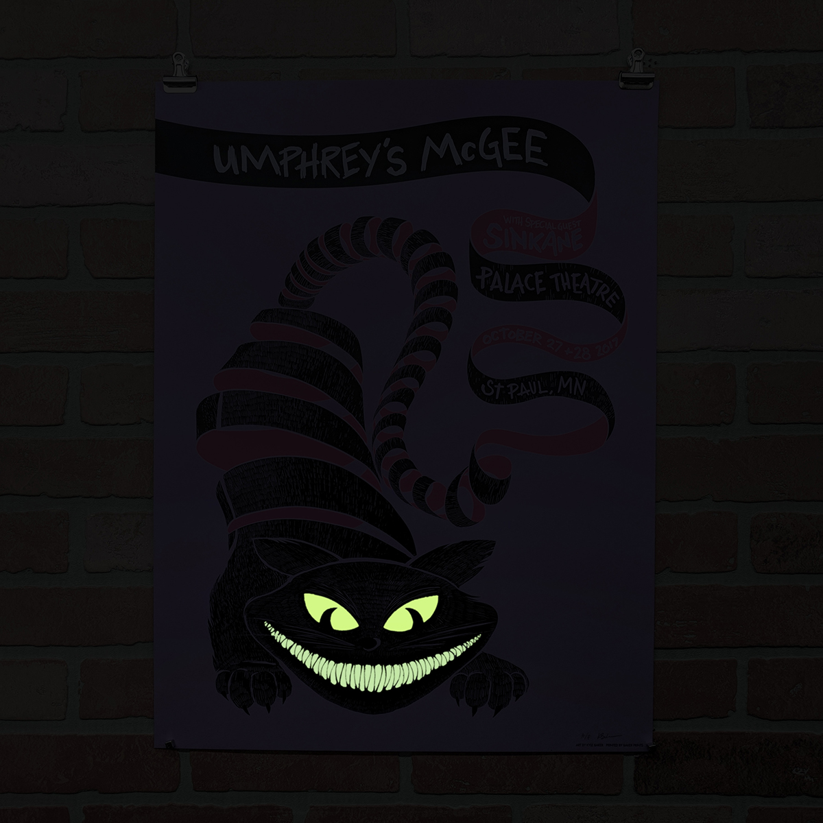 Halloween Poster by Baker Prints