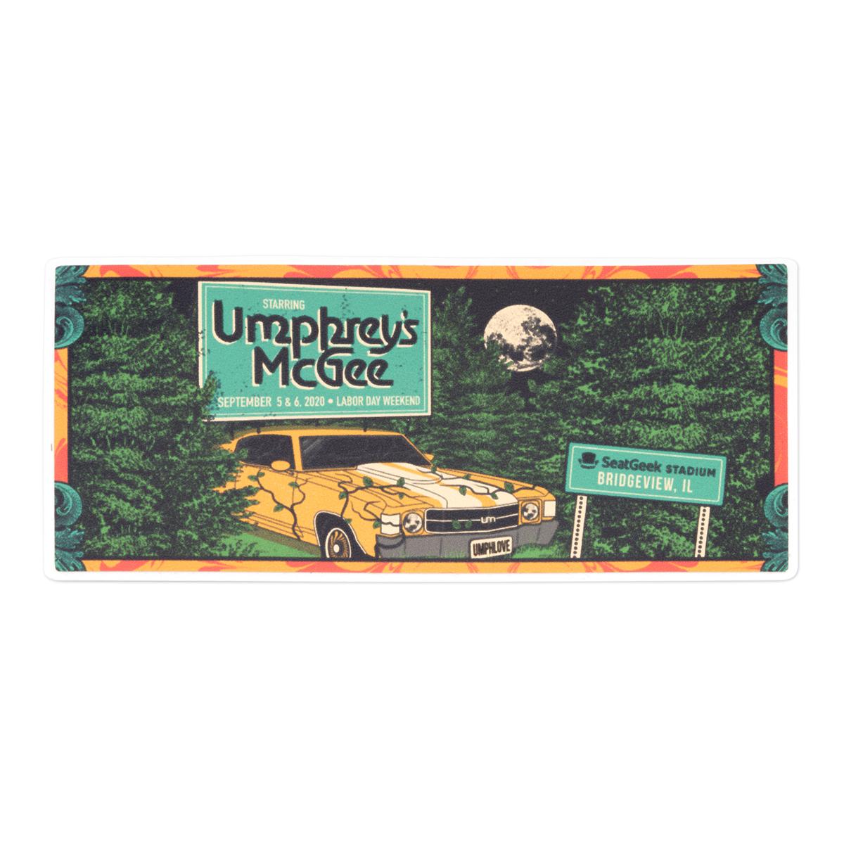 Commemorative Ticket Sticker