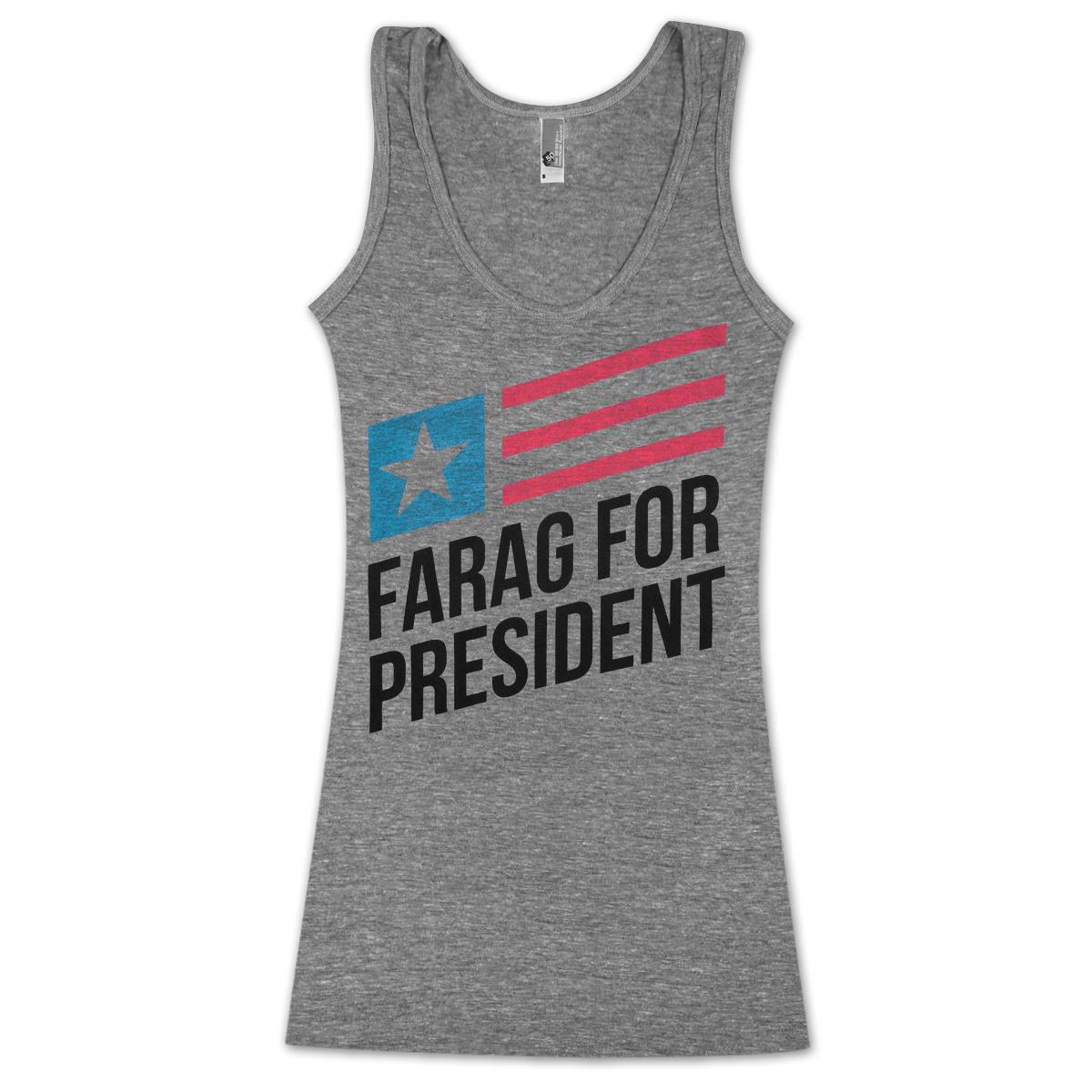 Farag For President Unisex Tank