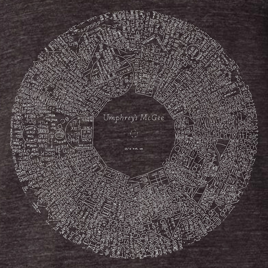 it's not us Album Schematic Tee