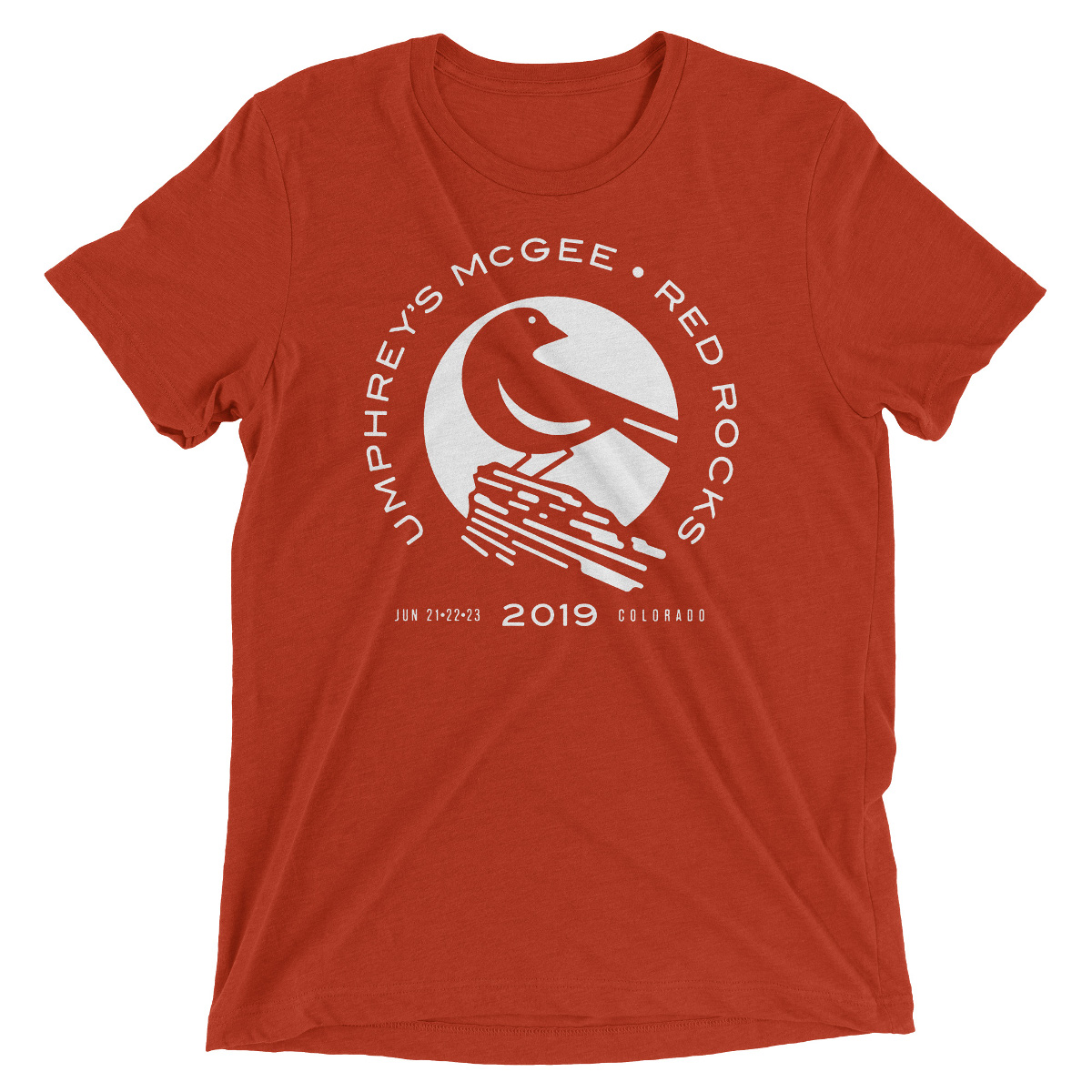 Red Rocks Lark Logo Tee