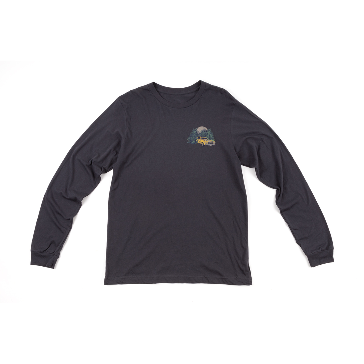 Charcoal Long Sleeve Tree Shirt