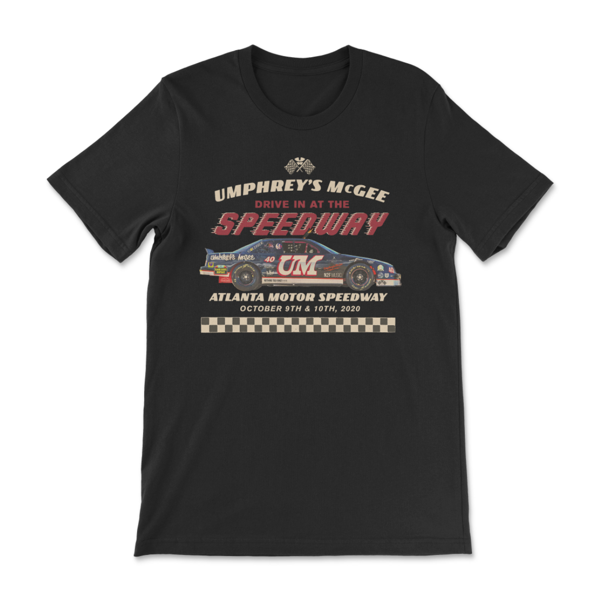 Checkered Speedway T-Shirt