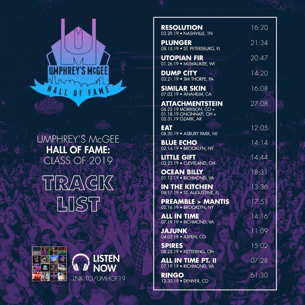 Hall of Fame: Class of 2019 - Digital Downloads