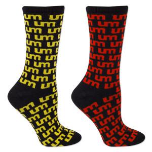 UM Logo Socks