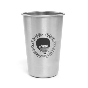 Afroman Stainless Steel Pint Glass
