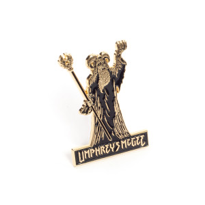 Goatman Wizard Pin