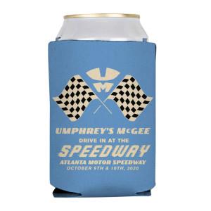 Blue Speedway Koozie