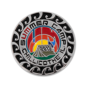 Summer Camp 2012 Pin