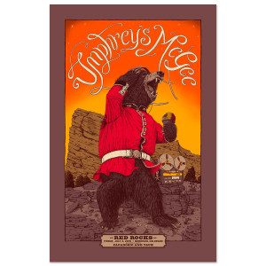 Red Rocks 2015 Poster Variant - Online Exclusive