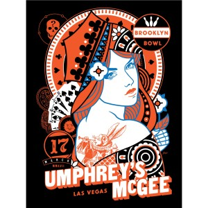 Scrojo Brooklyn Bowl Las Vegas Poster