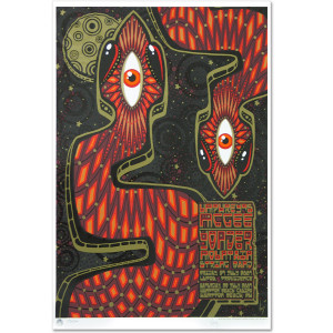 Umphrey's McGee- July, 2007 Lupo's and Hampton Beach Commemorative Poster