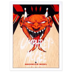 Ryan Guimond Brooklyn Bowl New York City Poster