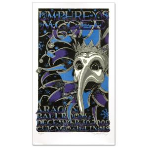 Umphrey's McGee - 12/30/2009 Aragon Ballroom Commemorative Poster