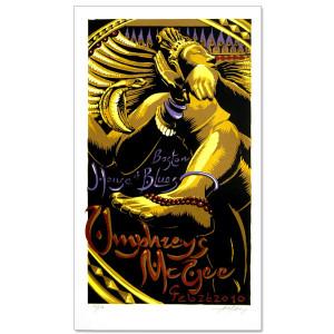 AJ Masthay HOB Boston Poster
