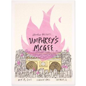 Umphrey's McGee Groupon Presents Show Poster