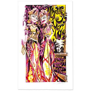 Umphreys McGee - Boston HOB 2/10/12 Masthay Print