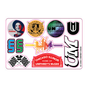 Proud Sponsor Sticker Sheet