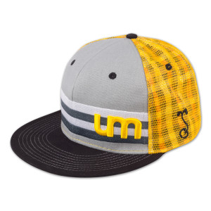 UM Grassroots Hat - Black/Yellow