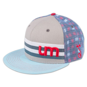 UM Grassroots Hat - Light Blue/Grey