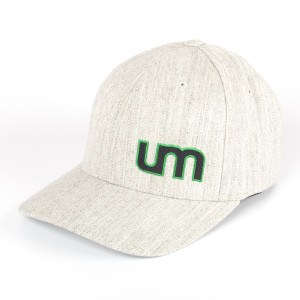 UM Heather Gray Logo Baseball Cap