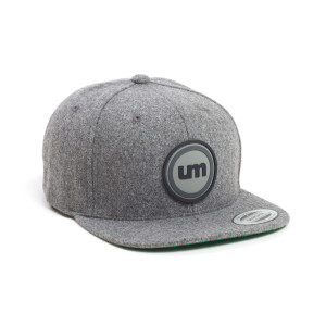 Wooly Rubber Patch Hat w/ UM logo