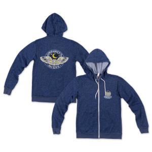 Speckled Blue Owl Hoodie