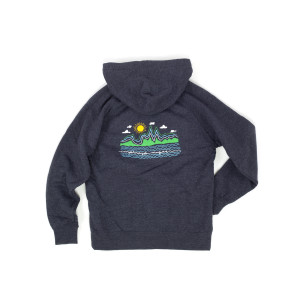 UM X Nate Duval Youth Squiggle Hoodie