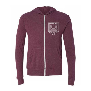 Red Rocks Moon Crest Lightweight Hoodie