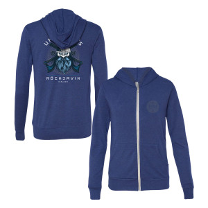 Röckjavik Lightweight Zip-Up Hoodie