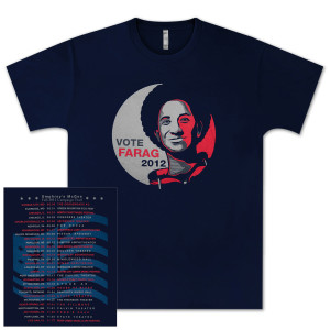 Vote Farag Tour Tee