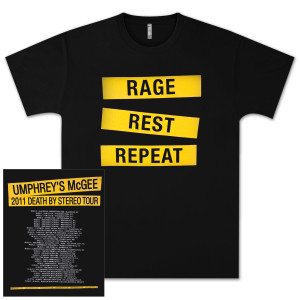 Umphrey's McGee 2011 Tour Tee Size Small
