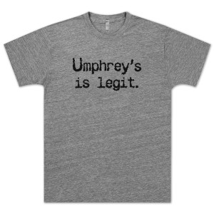 Umphrey's Is Legit Tee