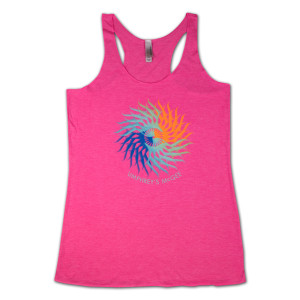 UM Colorful Ass Wheel Ladies Tank