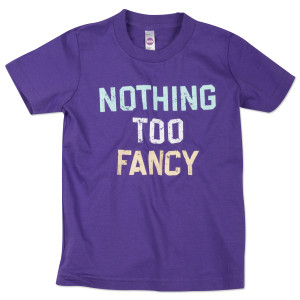 Nothing Too Fancy Youth T-Shirt