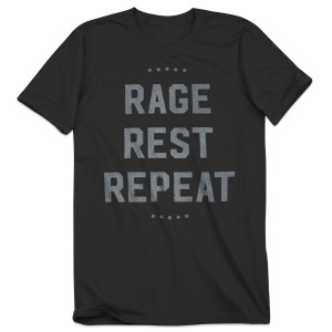 Rage Rest Repeat Crewneck