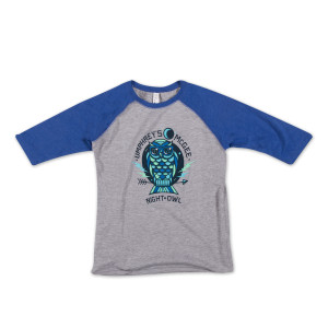 Kids 3/4 Sleeve Owl Tee