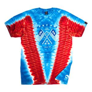 Red Rocks 2017 Tie-Dye Shirt