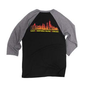 Chicago Skyline Raglan