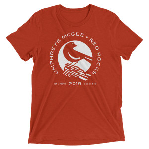 Red Rocks Lark Logo Tee