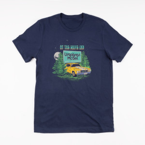 Navy At The Drive Inn Short-Sleeved T-Shirt
