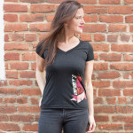 UM Ladies Angular V-Neck
