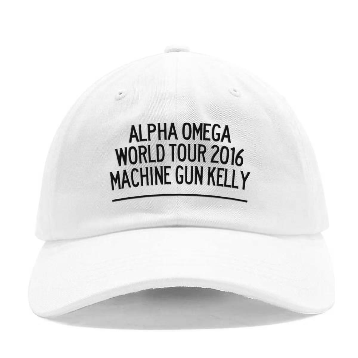 Alpha Omega World Tour 2016 White Dad Hat