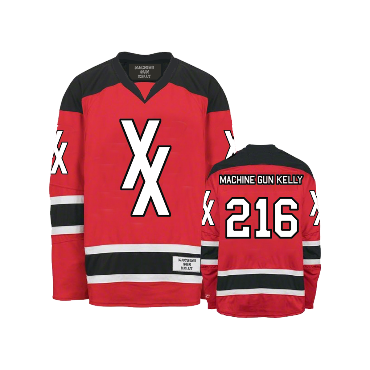 XX Hockey Jersey (Red)