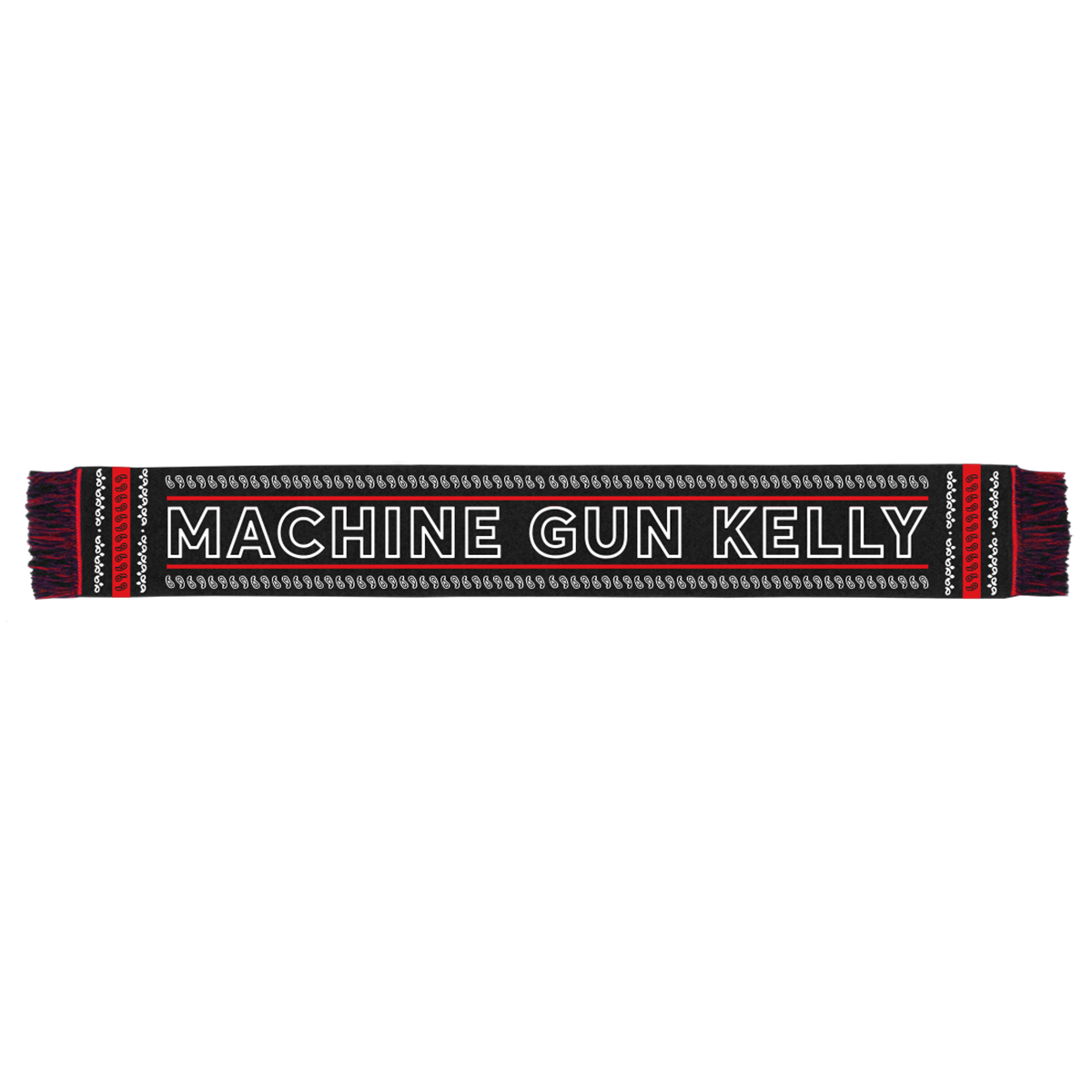 MGK Logo Paisley Scarf