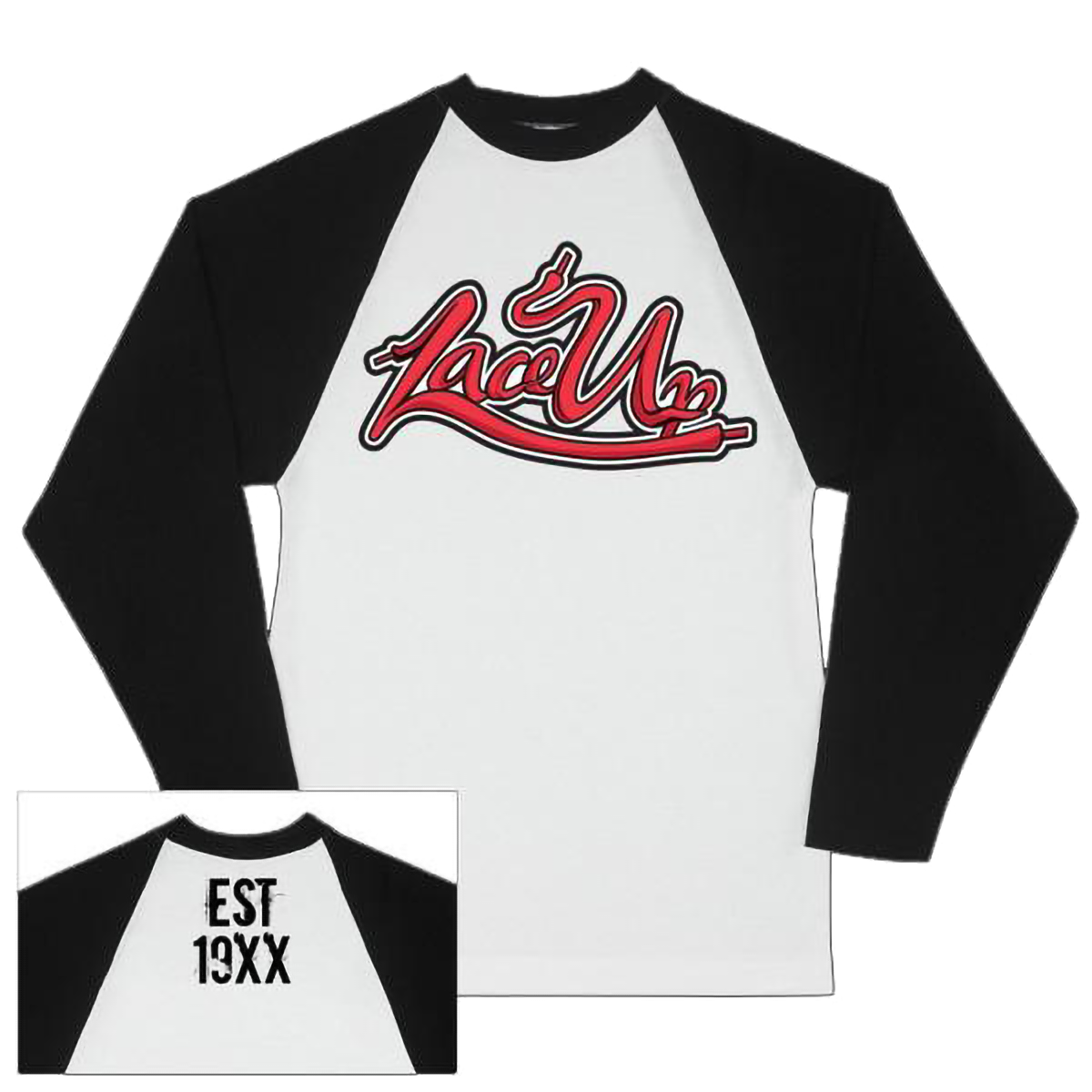 Lace Up Baseball Raglan