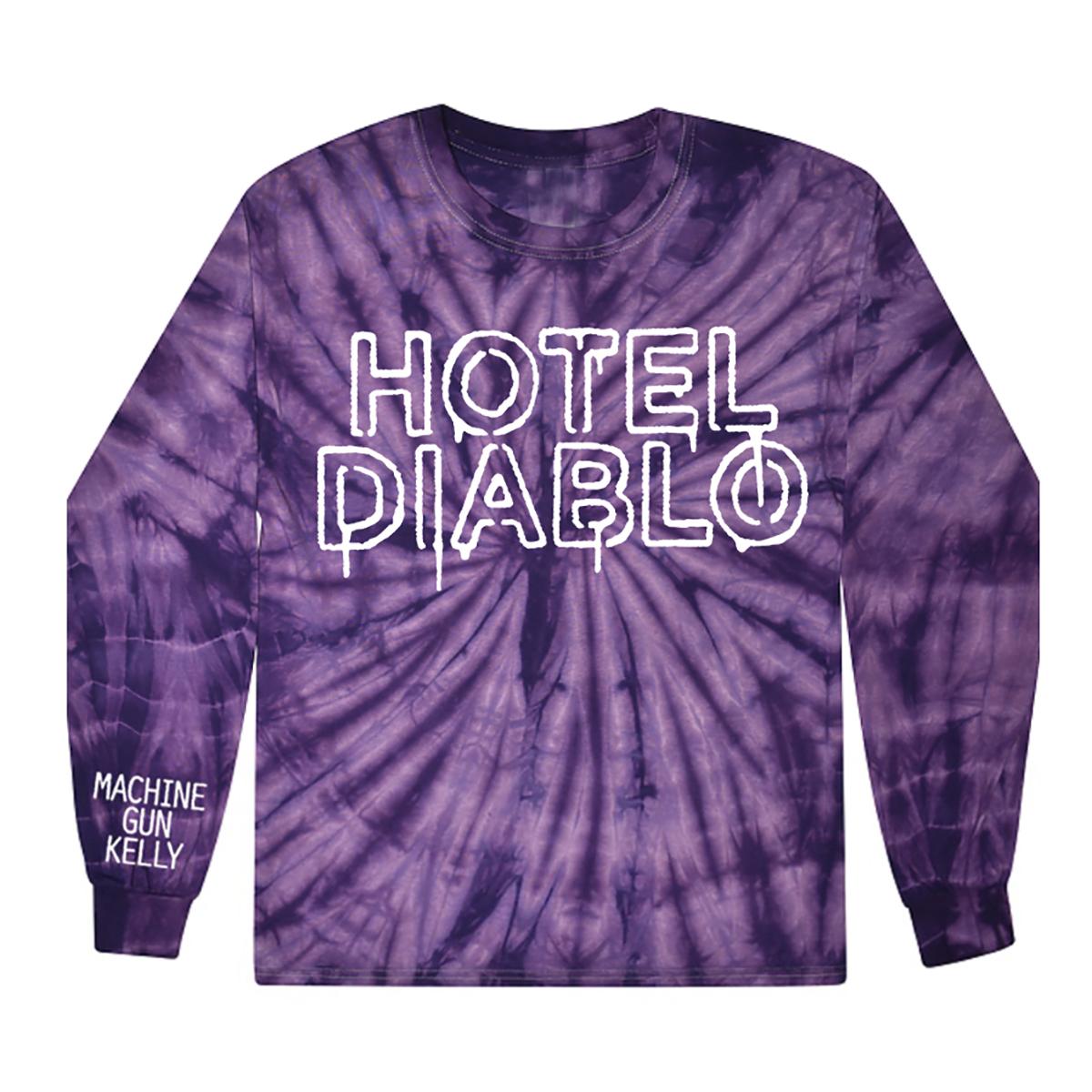 Hotel Diablo LS Tye-Dye Tee & Digital Album Download