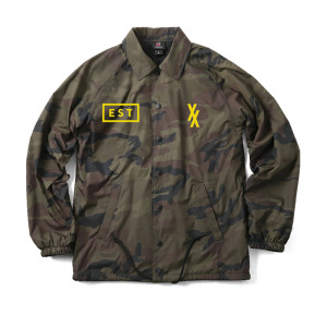 Limited Edition Yellow EST XX Camo Jacket